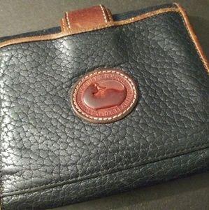 Handbags - Dooney & Bourke genuine leather pocket wallet